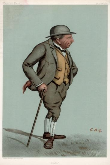 Charlie, Captain Charles Harold Longfield Beatty Dso, British Racehorse Trainer, 1903--Giclee Print