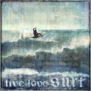 Live Love Surf by Charlie Carter