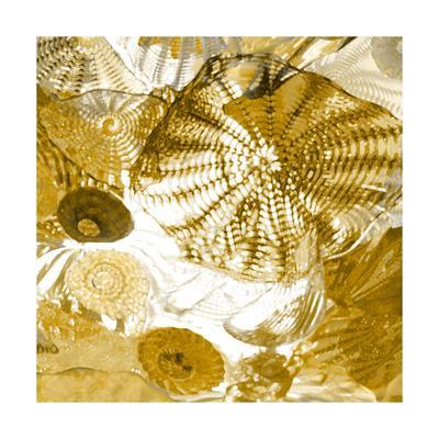 Underwater Perspective in Gold