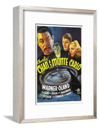 Charlie Chan at Monte Carlo, Warner Oland, Sidney Blackmer, Robert Kent, Kay Linaker, 1937