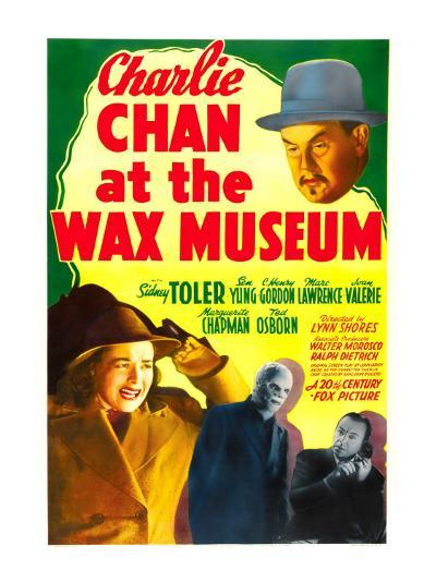 Charlie Chan at the Wax Museum, Sidney Toler, Joan Valerie, Marc Lawrence, 1940--Photo