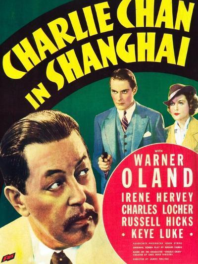 Charlie Chan in Shanghai--Art Print