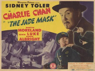 Charlie Chan in The Jade Mask, 1945--Art Print
