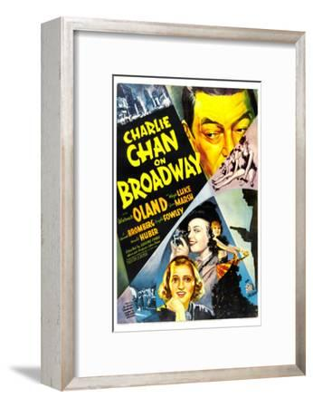 Charlie Chan on Broadway, Warner Oland, 1937