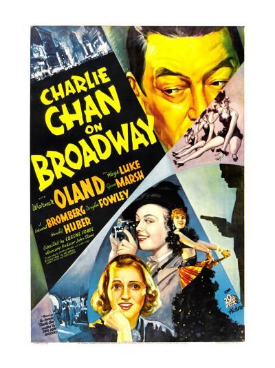 Charlie Chan on Broadway, Warner Oland, 1937--Photo