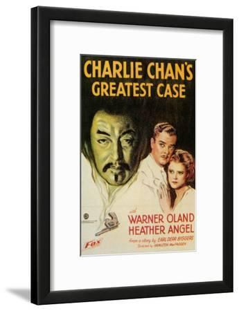 Charlie Chan's Greatest Case, 1933