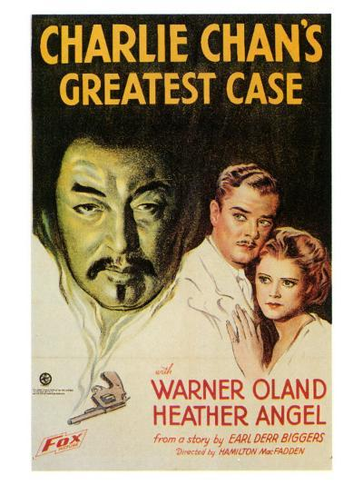Charlie Chan's Greatest Case, 1933--Art Print