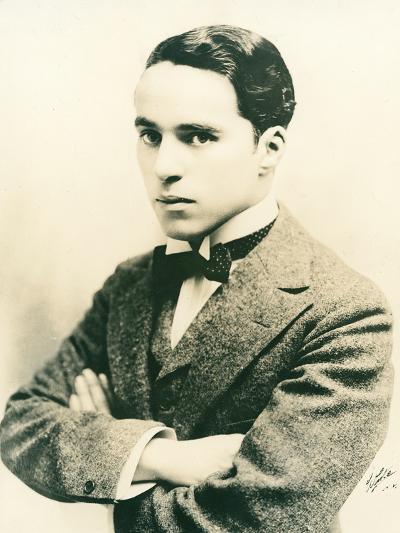 Charlie Chaplin, c.1916-American Photographer-Photographic Print