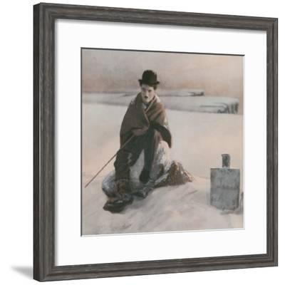 Charlie Chaplin--Framed Photographic Print
