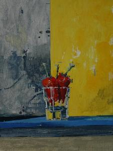 Chillies in a Glass by Charlie Millar