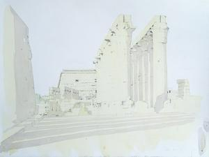 Luxor Temple by Charlie Millar