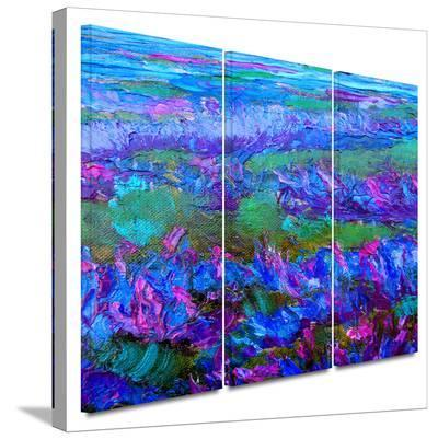 Charlits Floral 3 piece gallery-wrapped canvas-Susi Franco-Gallery Wrapped Canvas Set