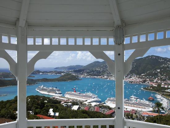 Charlotte Amalie, St. Thomas, U.S. Virgin Islands, West Indies, Caribbean, Central America-Angelo Cavalli-Photographic Print