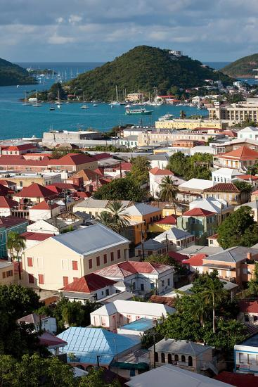 Charlotte Amalie, St. Thomas, U.S. Virgin Islands-Susan Degginger-Photographic Print