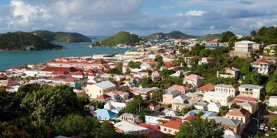 Charlotte Amalie, St. Thomas, U.S. Virgin Islands-Susan Degginger-Photographic Print