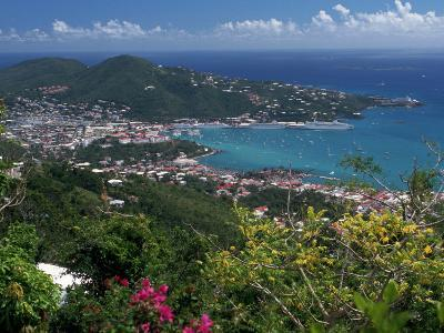 Charlotte Amalie, St. Thomas, USVI-Michele Burgess-Photographic Print