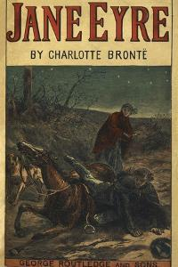 Edward Rochester With His Fallen Horse, in Front Of Jane Eyre by Charlotte Bronte