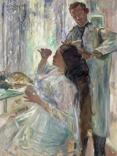 Charlotte Corinth at Her Dressing Table, 1911-Lovis Corinth-Giclee Print