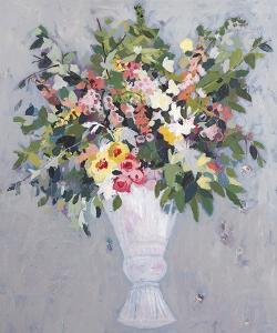 Kitchen Flowers - Foxgloves by Charlotte Hardy