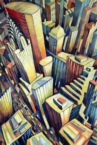 The Chrysler Building, 1993 by Charlotte Johnson Wahl