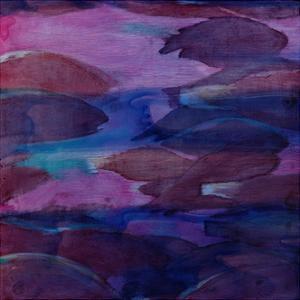 Purple Parrots VI, 2000 by Charlotte Johnstone