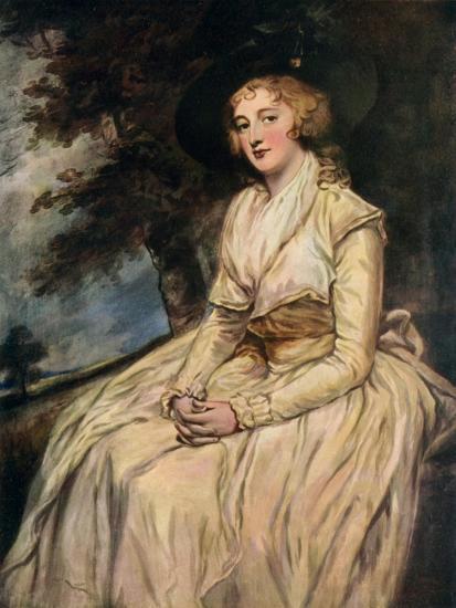Charlotte, Lady Milnes 18th Century-George Romney-Giclee Print