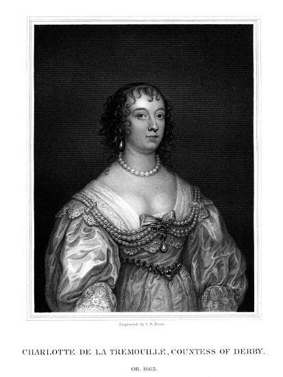 Charlotte Stanley, Countess of Derby-TA Dean-Giclee Print