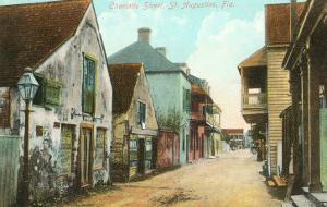 Charlotte Street, St. Augustine, Florida