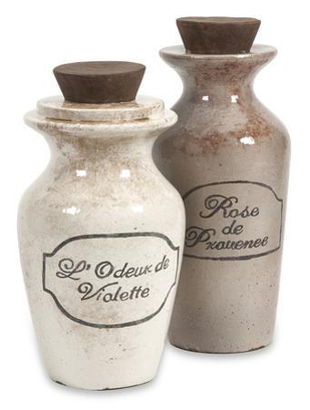 Charlotte Terracotta Perfume Bottle Set