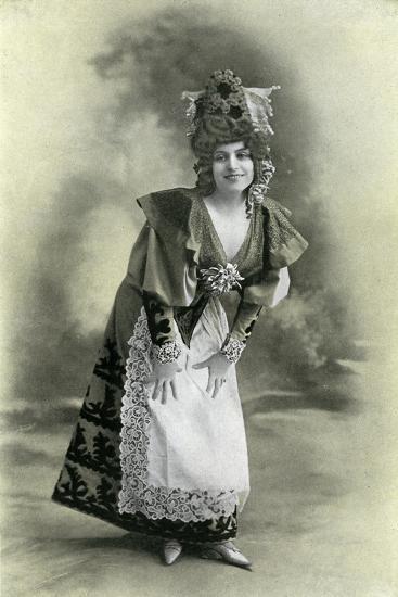 Charlotte Wiehe, 1901-Charles Reutlinger-Giclee Print