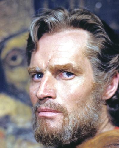 Charlton Heston - El Cid--Photo