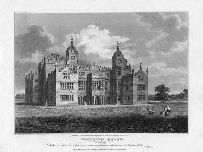 Charlton House, Wiltshire, 1808-S Sparrow-Giclee Print