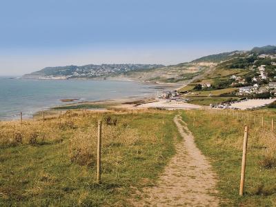 Charmouth, Jurassic Coast, UNESCO World Heritage Site, Dorset, England, United Kingdom, Europe-David Hughes-Photographic Print