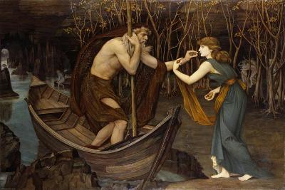 Charon and Psyche-John Roddam Spencer Stanhope-Giclee Print
