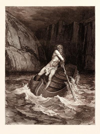Charon-Gustave Dore-Giclee Print