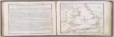Chart Showing the Sea Coast of England and Wales-Thomas Badeslade-Giclee Print