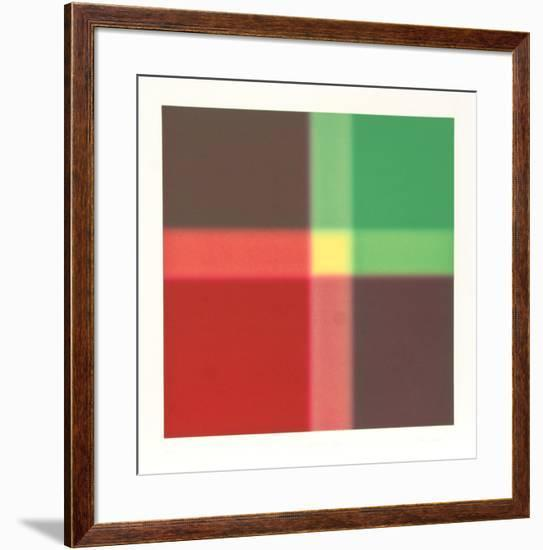Chartered Rouge-Barry Nelson-Framed Limited Edition