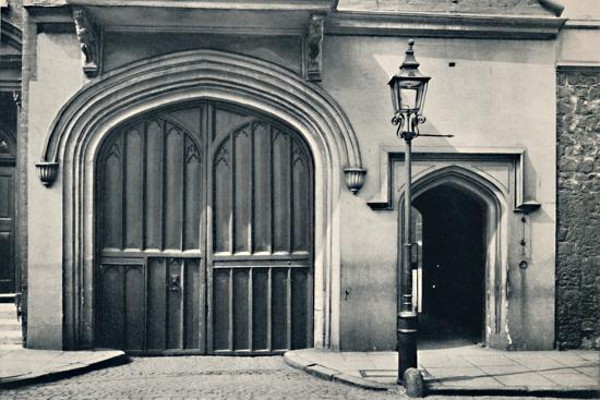'Charterhouse. Exterior of Entrance Gateway', 1925-Unknown-Photographic Print