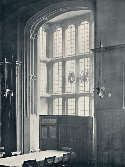'Charterhouse. Interior of Bay in the Dining Hall', 1925-Unknown-Photographic Print