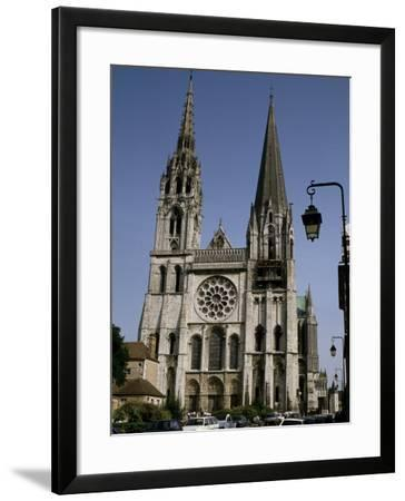 Chartres Cathedral, Chartres, France--Framed Photographic Print