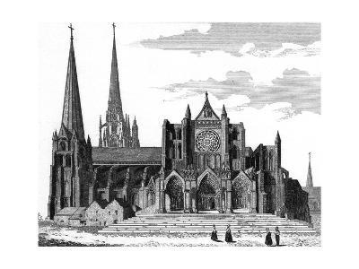 Chartres Cathedral--Giclee Print