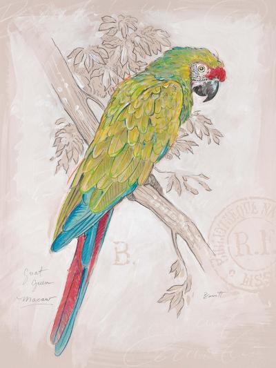 Chartreuse Tropical-Chad Barrett-Art Print