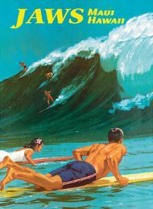 Jaws - Maui, Hawaii - Big Wave Surfing by Chas Allen