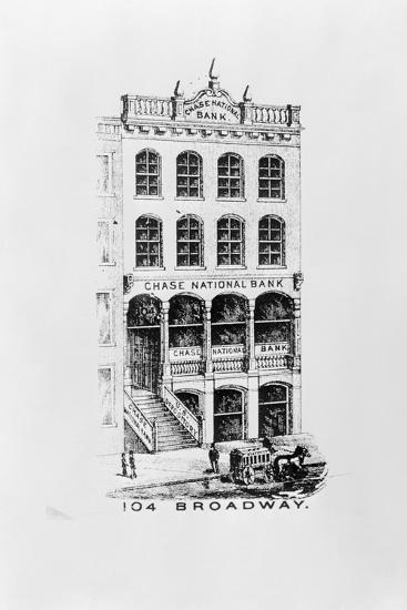 Chase National Bank Building--Photographic Print