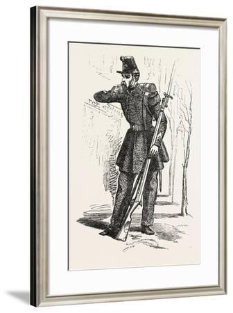 Chasseur De Vincennes--Framed Giclee Print