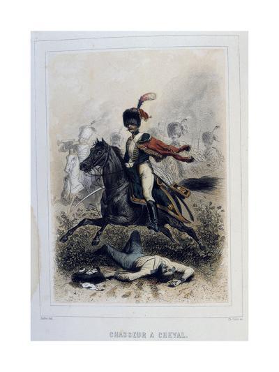 Chasseurs À Cheval, (Light Cavalr), 1859-Auguste Raffet-Giclee Print