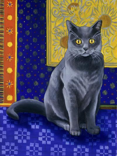 Chat Chartreux, Series I-Isy Ochoa-Giclee Print