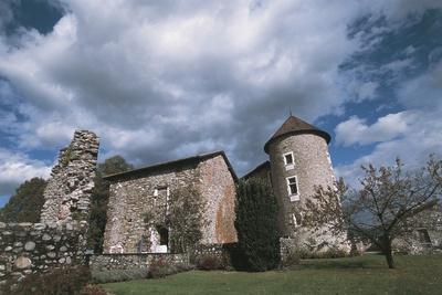 Chateau Bayard, 15th Century, Pontcharra, Rhone-Alpes, France--Photographic Print