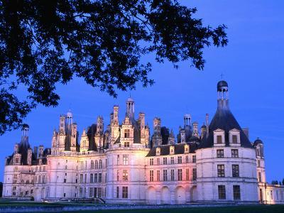 Chateau Chambord in Loire Valley, Chambord, France-John Banagan-Photographic Print