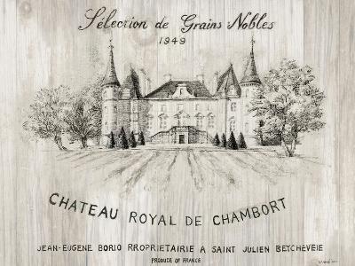 Chateau Chambort on Wood-Danhui Nai-Art Print